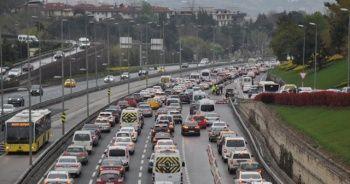 58 saatlik kısıtlama sonrası İstanbul'da trafik yoğunluğu