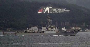 ABD savaş gemilerinin Karadeniz'e geçişi iptal edildi