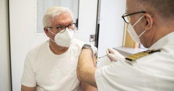 Almanya Cumhurbaşkanı aşı oldu