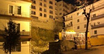 Ankara'da 8 katlı binada çökme tehlikesi: 2 gözaltı