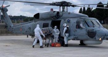 Askerî helikopterle hastaneye sevk edilen koronalı öğretmen kurtarılamadı