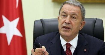 Bakan Akar'dan CHP Grup Başkanvekili Engin Altay'ın sözlerine tepki