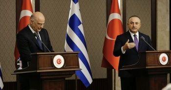 Bakan Çavuşoğlu'ndan Yunan mevkidaşına sert tepki