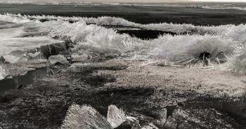 Çıldır, kristal göle döndü
