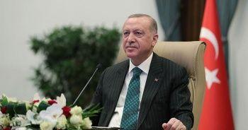 Cumhurbaşkanı Erdoğan, Avrupa Şampiyonu milli haltercileri tebrik etti