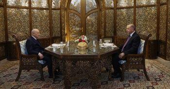 Cumhurbaşkanı Erdoğan ile Devlet Bahçeli iftarda buluştu