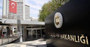 Dışişleri Bakanlığı: EOKA, bizim ve Kıbrıs Türk kardeşlerimizin gözünde bir terör örgütüdür