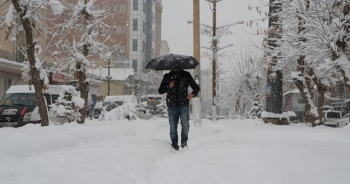 Doğu Anadolu için kar erimesi ve çığ uyarısı