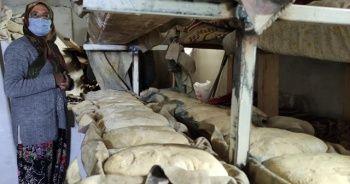 Ekmek satarak cami için katkıda bulundular