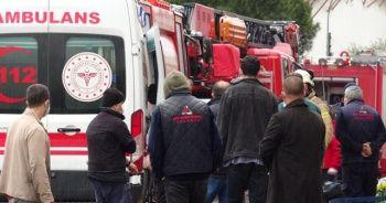 Fabrikada tiner kazanı patladı, 1 işçinin vücudu yandı