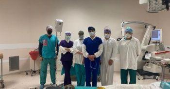 Far-UVC özellikli Initus-V sistemi ameliyathane ortamında kullanıldı