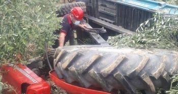 Feci traktör kazası: 1 ölü
