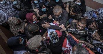 Filistinli çocuk 3 yıl sonra defnedildi
