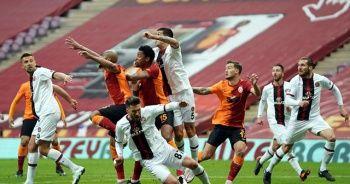 Galatasaray sahasında 2 puan bıraktı