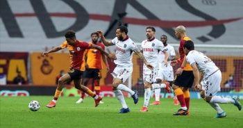 Galatasaray sahasında Trabzonspor ile 1-1 berabere kaldı