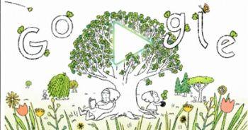 """Google'dan """"Dünya Günü""""ne özel doodle"""
