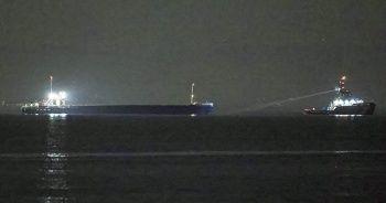 İstanbul Boğazı'nda gemi kurtarma operasyonu