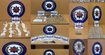 İzmir'de narkotik operasyonunda 7 şüpheli tutuklandı
