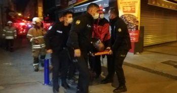 İzmir'de restoranda yangın: 1 kişi dumandan etkilendi