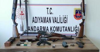 Jandarma silah ele geçirdi