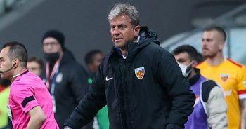 Kayserispor'da bu sezon 5 teknik adam görev yaptı