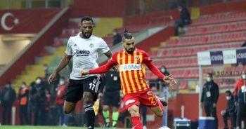 Kayserispor'un Beşiktaş deplasmanında yüzü gülmüyor