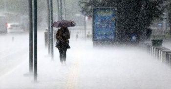 Meteoroloji'den 5 bölge için sağanak uyarısı