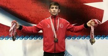 Milli Güreşçi Cihat'ın hedefi dünya şampiyonluğu