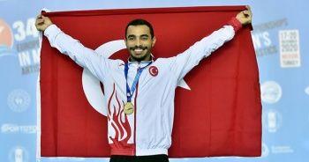 Milli sporcu Ferhat Arıcan altın madalya kazandı