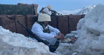 MSB, iftarını açan askerlerin fotoğraflarını paylaştı