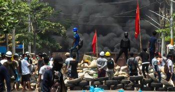 Myanmar'da protestolarda bilanço yükseldi