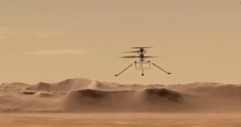 NASA duyurdu: Mars'ta tarihi uçuş