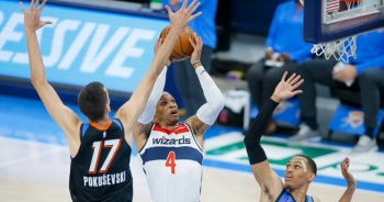 NBA'de Washington Wizards üst üste 7. galibiyetini aldı