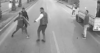 Otobüs şoförünü bıçakla tehdit eden 2 şahıs tutuklandı