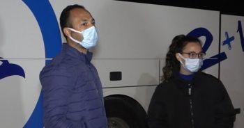 Riskli grubundaki baba ve kızı karantinaya alındı