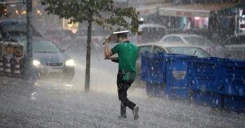 Sağanak yağmur ve doluya dikkat!