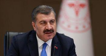 """Sağlık Bakanı Koca: """"Aşı, maske ve mesafeden daha fazla korur, biraz daha sabır"""""""