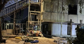 Son dakika... Bağdat'taki hastane yangınında ölenlerin sayısı 82'ye çıktı