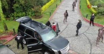 Suç örgütü operasyonunda Sedat Peker'in villasına baskın görüntüleri ortaya çıktı