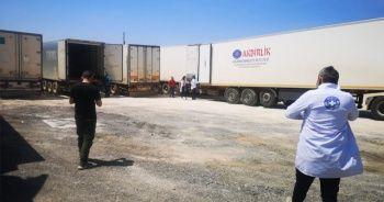 Suriye'ye 7 TIR'lık ilaç ve tıbbı malzeme yardımı