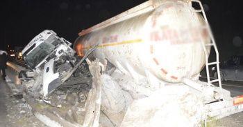 TEM Otoyolu'nda feci kaza