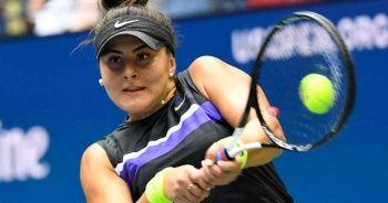 Tenisçi Bianca Andreescu korona virüse yakalandı