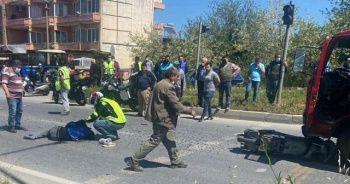 Trafik kazasında yaralanan motosiklet sürücüsü kurtarılamadı