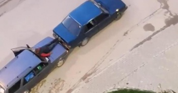 Türk işi kurtarıcı görenleri güldürdü