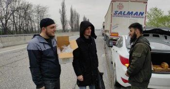 Türk tır şoförleri 1 aydır sınırda mahsur