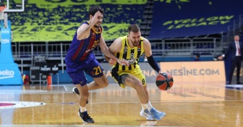 Turkish Airlines Euroleague: Fenerbahçe Beko: 73 - Barcelona: 82