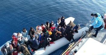 137 düzensiz göçmen kurtarıldı