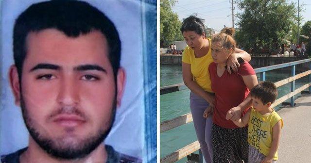 27 yaşındaki genç sulama kanalında kayboldu