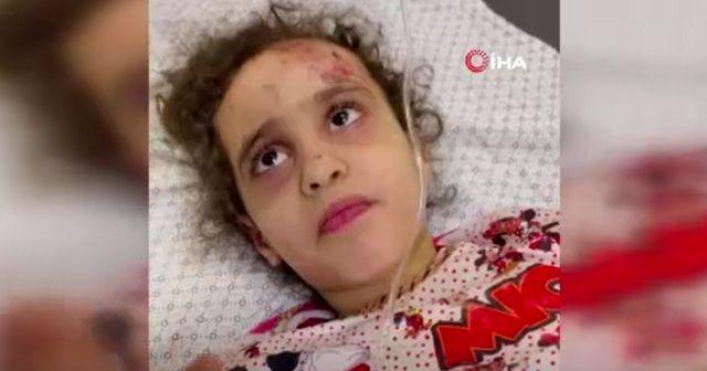 Enkaz altındaki Filistinli kız 7 saat sonra kurtarıldı
