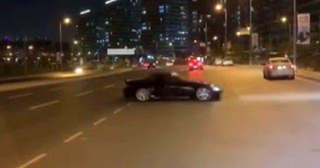 Ataşehir'deki trafik magandasına ceza yağdı